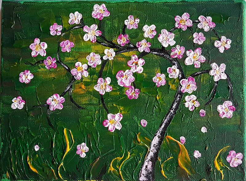 Blüten Abstrakter
